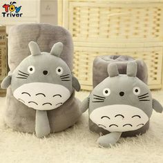 $15.99! Cartoon Totoro Cat Coral Fleece Air-Condition Sofa Office Nap TV Travel Portable Blanket Toy Doll Multifunctional Carpet free shipping Triver Toy