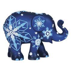 Christmas elephant, Snowflakes