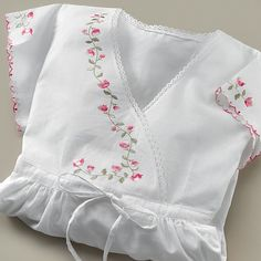 Posy Cotton Nightdress for doll-to make from old dresser scarf