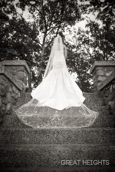 I will be doing a cathedral veil with rhinestone and beaded embroidery :) not this exact one though ;-)