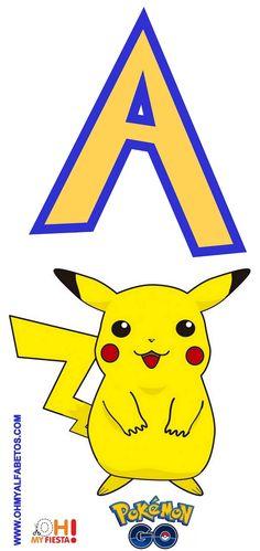 Pikachu Pokemon Go, Pokemon Party, Pokemon Fan, Pokemon Birthday Cake, 9th Birthday, Birthday Ideas, Alfabeto Do Pokemon, Pokemon Printables, String Art Templates