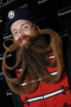 Man facial hair is amazing, scary and kind of gross but amazing nonetheless!
