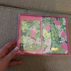 Lilly Pulitzer Travel Set Brand new Lilly Tavel set of passport case and travel tag. Lilly Pulitzer Accessories
