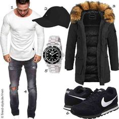Winter Parka, Neue Outfits, Online Shops, Partner, Men, Style, Fashion, Man Outfit, Dope Outfits