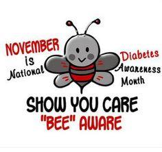 November is National Diabetes Awareness Month.