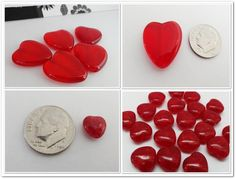 '25 Czech Pressed Glass/Mixed Hearts Lot' is going up for auction at  7pm Tue, Jan 15 with a starting bid of $5.