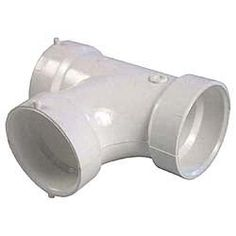 Used when connecting a branch line into a vertical drain Shower Niche, Shower Hose, Shower Arm, Yard Drainage, Drainage Pipe, Plumbing Drains, Drainage Solutions, French Drain, Wall Mount Faucet