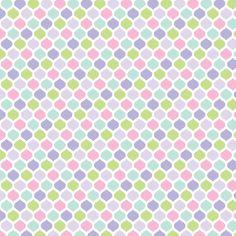 Very cute little pattern.    Sweet Girl - Sweetpea fabric by misstiina on Spoonflower - custom fabric