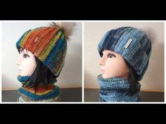 Knitted Hats, Crochet Hats, Knitting, Youtube, Handmade, Fashion, Knitting Hats, Moda, Hand Made