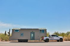 With its master loft and separate room for two kids, the Bunkhouse by Uncharted Tiny Homes makes for a family-friendly gooseneck tiny house.