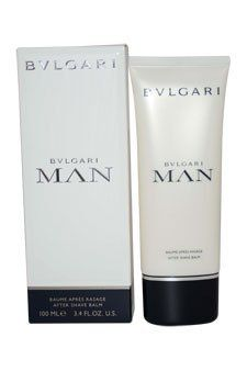 BVLGARI MAN by Bvlgari 3.4 oz Men's Aftershave Balm by Bvlgari. $49.79. Brand new in original RETAIL BOX (Not a Tester!!); Design House: Bvlgari. BVLGARI MAN by Bvlgari 3.4 oz Men's Aftershave Balm