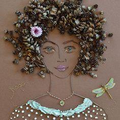 """""""Hope"""" Flower Face Print"""