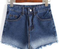 Ombre Fringe Denim Shorts. Fashion : Bottoms : Pants Ombre Fringe Denim Shorts - See more at: http://spenditonthis.com/cat-13-fashion-newest.html#sthash.2AY8IwXi.dpuf