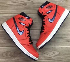"SHOP: Nike Air Jordan 1 Retro High OG ""David Letterman"" at kickbackzny.com"
