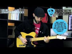 Lick 355/365 - Straight Up Rock Lick in A | 365 Guitar Licks Project