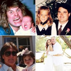 See the Stars' Most Adorable Throwback Snaps With Their Dads!