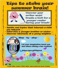 Create a children's book this summer and imagine the fun of reading it together!