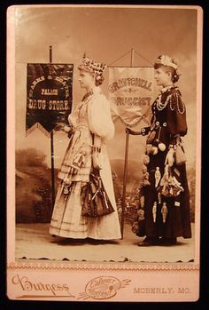 Cabinet Card for Sparks & Coates Palace Drug Store