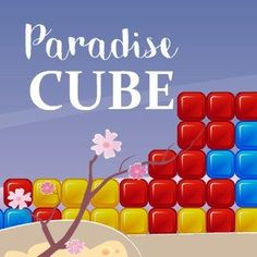 Free Match-3 Browser Game - Take a break and play Paradise Cube, a funny and relaxing match 3 game. #browsergame #freegames #gaming #match3 #game #webgame Free Match, Match 3 Games, Free Games, Cube, Paradise, Gaming, Play, Funny, Videogames