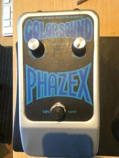 Colorsound Phazex 70's Grey/Blue