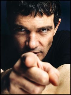 Those Eyes will get you everytime...Antonio Banderas by Nigel Parry