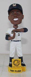 Nyjer Morgan Bobblehead Day is on June 10. Will you get a Morgan or a Tony Plush?