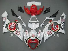 SUZUKI GSX-R 1000 2005-2006 K5 ABS Fairing - Lucky Strike #2006gsxr1000fairings #2006suzukigsxr1000fairings