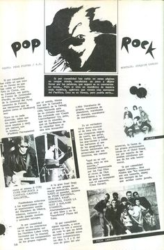 #FANZINE #LAVATIVA #MALLORCA #OCHENTAS #80's #CROWDFUNDING #VERKAMI - II Pop-Rock en el num. 4 del Lavativa verano de 1984 El texto es de Pere Fuster y A.D. (¿Adolfo Diez?) y se acompaña de fotos de algunos grupos y de un dibujo de Roberto Arraez - MallorcaNochentas Reinventando los 80s - CD 20 grupos rinden homenaje a 20 grupos de los Nochentas +INFO: www.mallorcanochentas.com  Campaña crowdfunding www.verkami.com/projects/3629