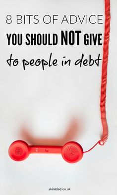 It is easy to share your own thoughts and ideas to help out people in debt. Unfortunately, some tips just aren't useful and can do more damage than good. Ways To Save Money, Money Tips, Money Saving Tips, How To Make Money, Money Hacks, Budgeting Finances, Budgeting Tips, Debt Payoff, Debt Repayment