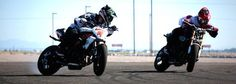 CHECK OUT ERNIE VIGIL AND SAVAGE LIN DRIFTS ON THEIR 180 KG AND DEMONSTRATE AWESOME BIKE MOVES!