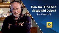 How Do I Find And Settle Old Debts?
