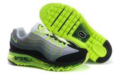 promo code 6b06d 55cb1 Authentique Nike Air Max 95 Flywire Dynamique Femme Blanc G Ardoise Gris  Chaussures Course Volts Noir Paris pas cher