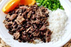 Brazilian Feijoada {Slow Cooker Pork and Black Bean Stew}