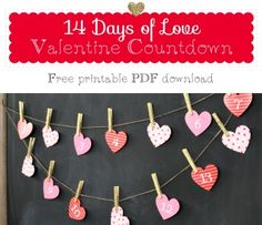 14 Days of Love Advent Calendar for Valentines Day by Holly Jones | Project | Papercraft / Decorative | Kollabora