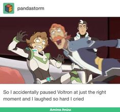 """Voltron legendary defender"" (Pidge, Shiro, Coran) OMG I paused at the perfect moment, I love this so much! Someone caption this!(When your boyfriend's (shiro) crazy uncle (coran) suddenly goes to talk to you (pidge) Voltron Klance, Voltron Comics, Voltron Memes, Voltron Fanart, Form Voltron, Voltron Ships, Shiro Voltron, Geeks, Samurai"