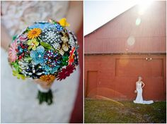 The Heirloom Trend: Broach Bouquets