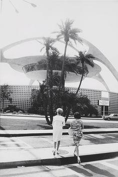 Los Angeles International Airport, 1964 © Garry Winogrand