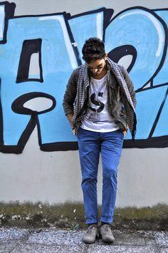 Alfonso De Santis Fashion Blogger Le Famille De la Mode