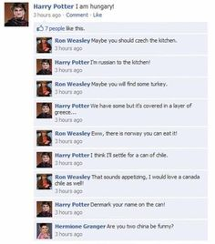 Lol Harry potter Facebook: