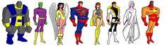 animated Legion line-up
