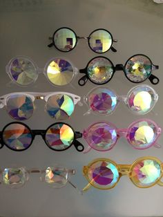 retrophysicalmonster:  LADY GAGA'S ARTPOP PRISM GLASSES