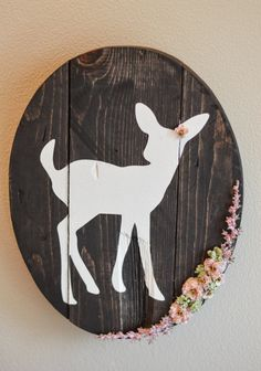 Hey, I found this really awesome Etsy listing at https://www.etsy.com/listing/506373849/rustic-fawn-wall-sign-woodland-nursery
