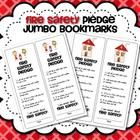 October is Fire Safety Month!  These Fire Safety Pledge Jumbo Bookmarks are a perfect reminder for your students to be fire safety smart.  There ...