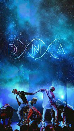 BTS WALLPAPER DNA