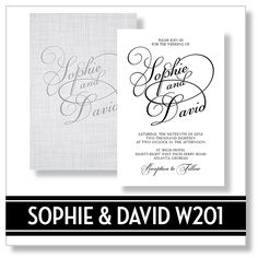Rachel And Philip Wedding Invitations EventPrints, Customizable Invitations,  Unique, Modern, Atlanta, Http://www.eventprints.com/ Wedding Invitu2026 |  Pinterest
