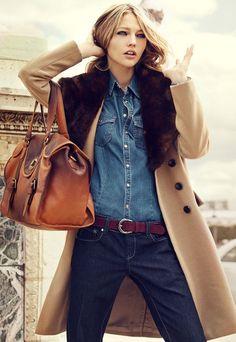 Camel Coat- Haute Design by Sarah Klassen: Greatcoat! #Coat #Camel #Sarah_Klassem