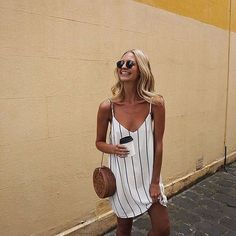White Hot - Effortlessly Cool Ways To Style A Slip Dress - Photos