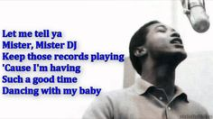 Sam Cooke Having a Party with lyrics (after a 14 second commercial)