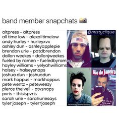actually tyler is inactive as frick as hayley's is now yelyahsnaps but yeah this is helpfulll