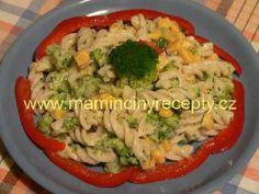 Těstovinový salát s brokolicí